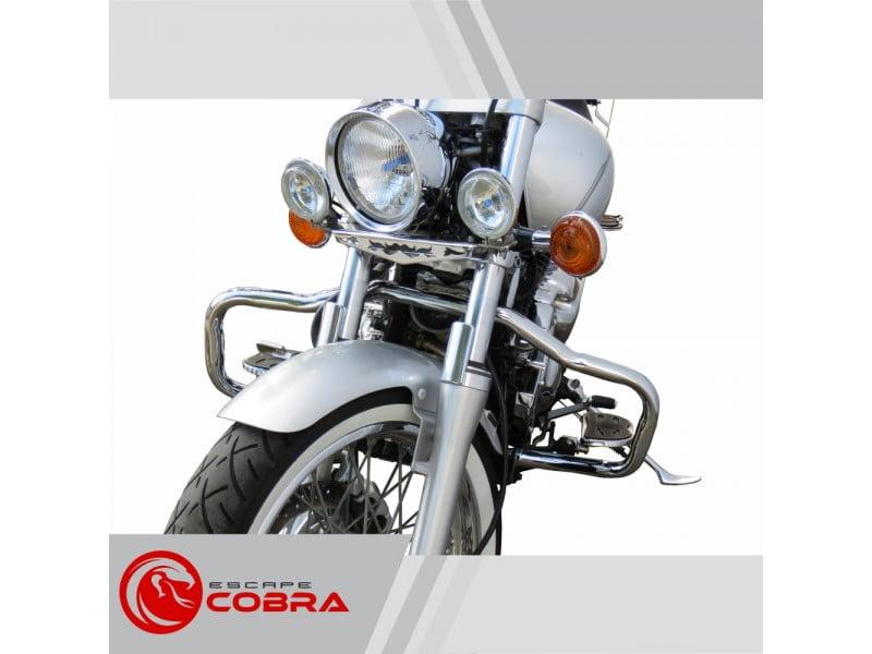 Protetor de Motor Drag Star 650 Mata Cachorro Moustache - Cobra