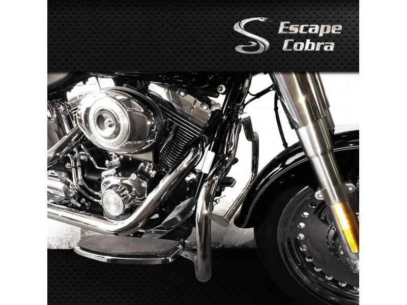 Mata Cachorro Harley Davidson Softail FX - Moustache - Cobra
