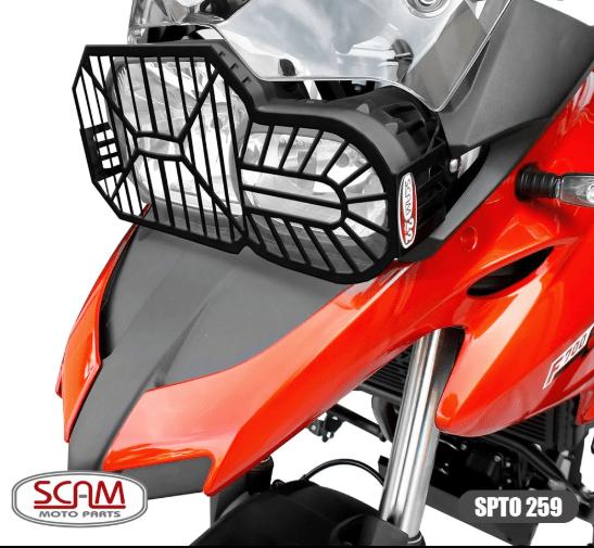 Protetor Farol Moto BMW F 800 GS Adventure - F800 GS - Scam