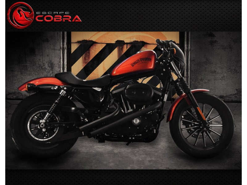 Escapamento Furia Moto Harley XL 883 Iron