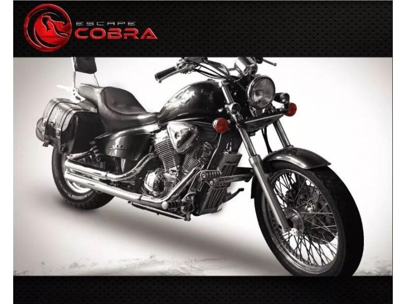 Escapamento para Moto Shadow 600 Esportivo Slashcut Cobra