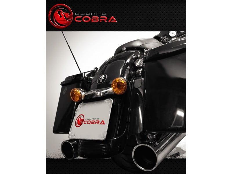 Ponteira Escapamento Harley Street Glide Slashcut Cobra
