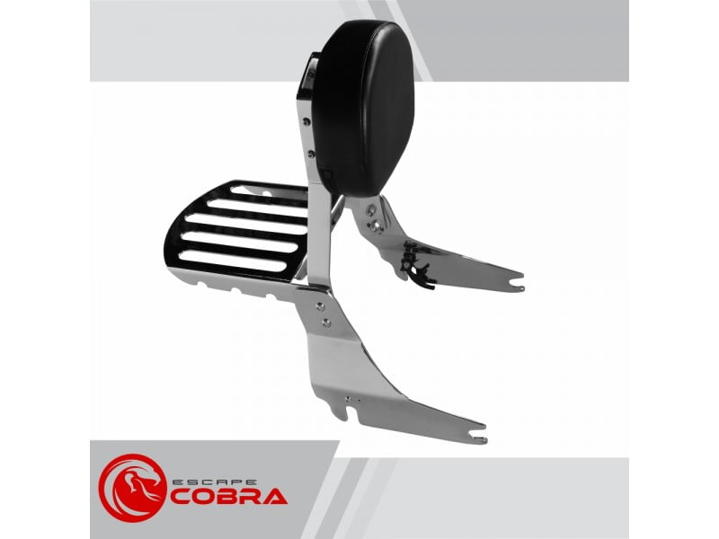 Sissy Bar Shadow 750 Honda Encosto e Grade - Cobra