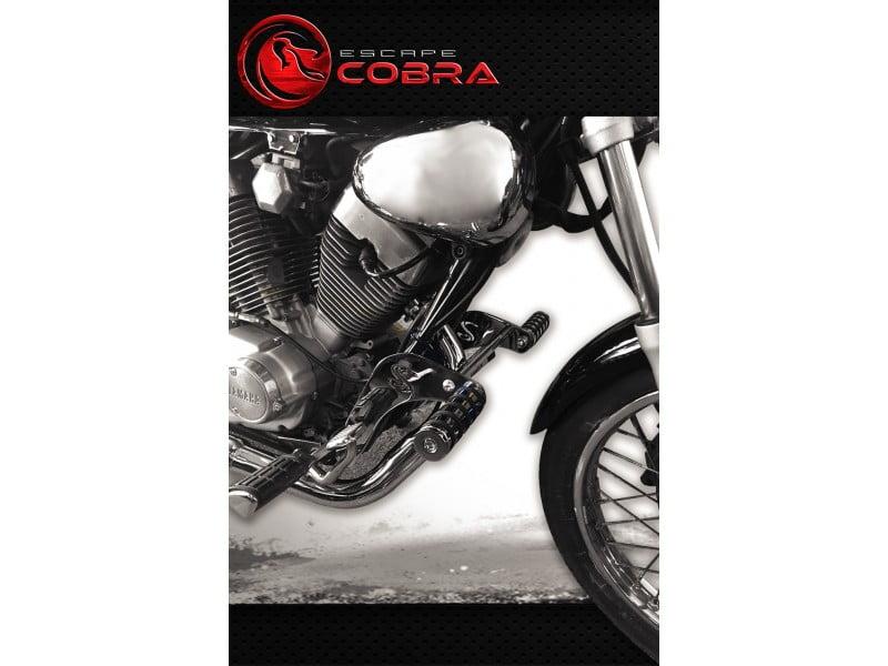 Protetor de Motor Virago 535 com Pedaleira