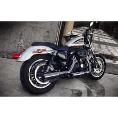 Escapamento Harley 1200 XL Iron Chanfro Lateral