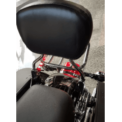 Sissy Bar Fat Boy  Softail Destacável Moto Harley