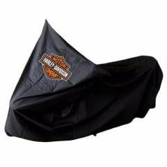 Capa Road King Térmica para Cobrir Moto Forrada Harley