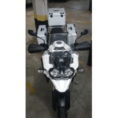 Baú Alumínio Moto BMW 850 GS Lateral e Traseiro Bauleto