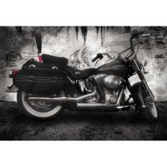 Ponteira Harley Softail Heritage Escapamento Cobra Chanfrado Lateral