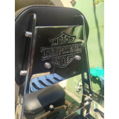 Sissy Bar Road King Harley Davidson Touring Encosto e Grade