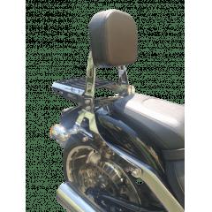 Sissy Bar Heritage Harley Davidson Softail Cromado Preto