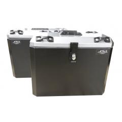 Baús Alumínio CB 500 X Traseiro e Lateral Bauleto CB500X Livi