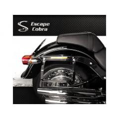 Afastador Suporte Alforje Harley Davidson Softail Fat Boy - Cobra