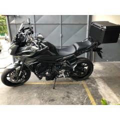 Baú Alumínio Moto MT 09 Tracer Yamaha Bauleto MT09 Traseiro com suporte - Livi