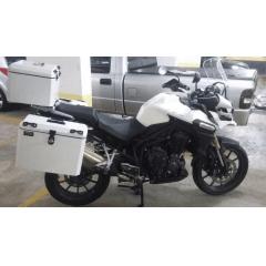 Baú Traseiro Moto Triumph Tiger 1200 Bauleto Alumínio 43 Litros Yamaha - Livi