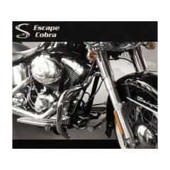Mata cachorro Harley Davidson Softail Breakout  - Moustache - Cobra