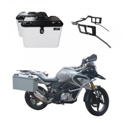 Baú Lateral moto BMW GS 310 Bauleto + suportes laterais GS310