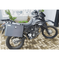 Baú Lateral moto XT 660 R Bauleto + suportes laterais XT660 R