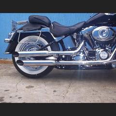 "Ponteira Deluxe Harley Davidson Softail Esportiva 3"""