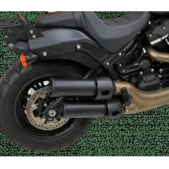 Ponteira Esportiva Harley Fat Bob Softail Preta