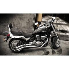 Escapamento Moto Boulevard M1500 JJ Classic Cobra
