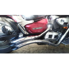 Escapamento JJ Boulevard C1500 Intruder LC 1500 Cobra