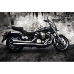 Escapamento Moto Midnight 950 Reto Yamaha - Cobra