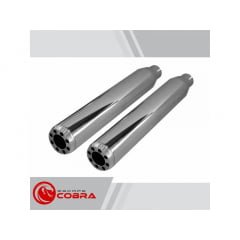 "Ponteira Dyna Super Glide Sport ø3"" - Shotgun - Cobra"