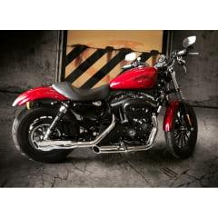 "Ponteira Harley Davidson Roadster Sport Ø3"" - Chanfrada - Cobra"
