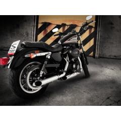 "Ponteira Harley Davidson Roadster Sport Ø3"" - Chanfro Móvel - Cobra"