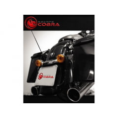 "Ponteira Harley Davidson Touring Ultra Limited Sport Ø4"" - Slashcut - Cobra"