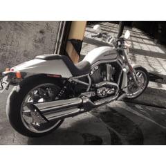 """Ponteira Harley Davidson V Rod Sport Ø4"""" - Slashdown - Cobra"""