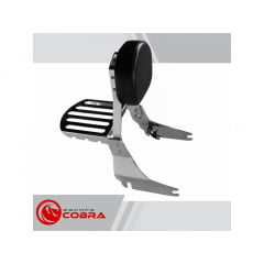 Sissy Bar Shadow 750 Honda Encosto e Grade - Cobra