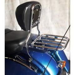 Sissy Bar Destacável Moto Harley Street Glide
