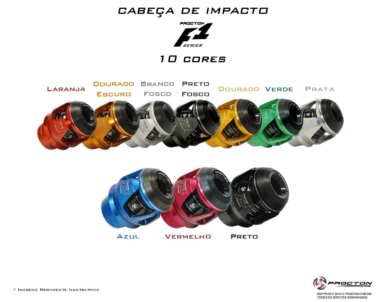 Slider Protetor de Motor CBR 500 R Motocicleta Honda CBR500R - Procton