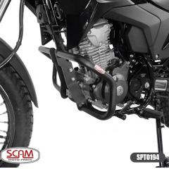 Protetor Motor Moto XRE 190 Honda Scam XRE190  Preto