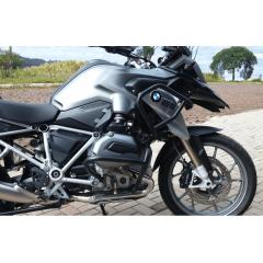 Protetor Motor Carenagem BMW 1200 2008 - 2019 Preto Prata - Livi