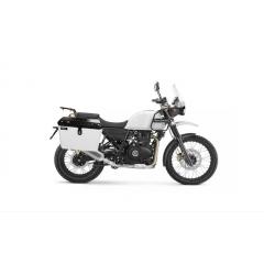 Baú Lateral Moto Royal Enfield Himalayan Alumínio  - Bauleto com Suportes Laterais - Livi