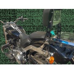Sissy Bar Fat Boy Harley Davidson Encosto e Grade Traseira