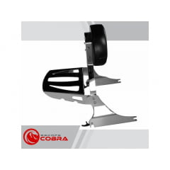 Sissy Bar Harley Softail Breakout Destacável - Cobra