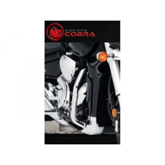 Mata Cachorro Boulevard M1800 Protetor De Motor Suzuki Moustache M 1800