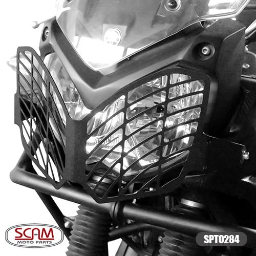 Protetor Farol Grade Frontal Tenere 250 Yamaha - Scam